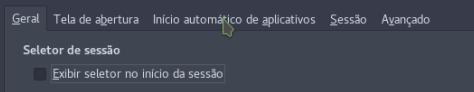 Inicio automático de aplicativos.