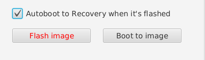 Conecte seu dispositivo no USB, se não estiver em modo Fastboot, faça igual na imagem acima.
