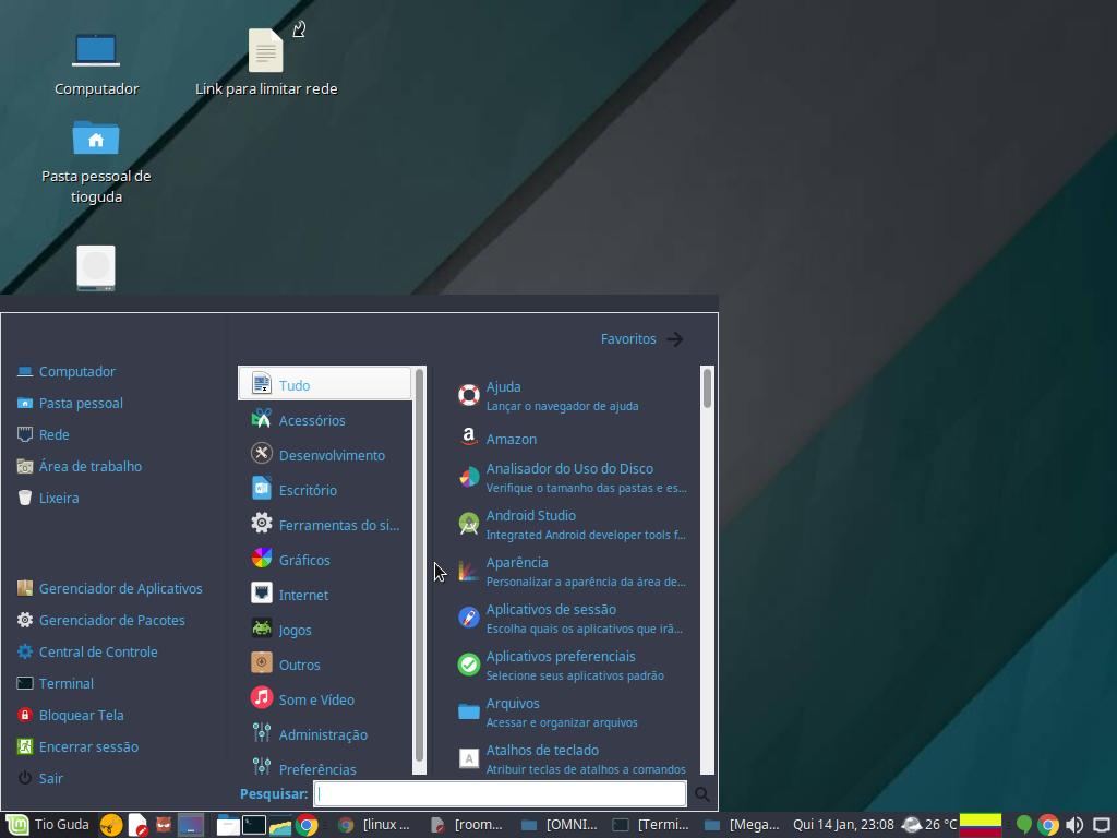 Linux Mint 2014.